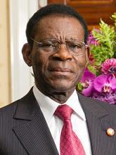 تيودورو أوبيانغ نغيما رئيس غينيا الاستوائية.