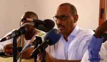 عبد السلام خلال مؤتمر اليوم