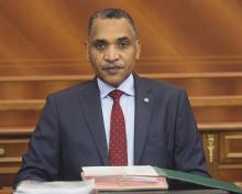 محمد سالم ولد البشير: الوزير الأول الموريتاني.