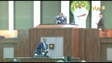 صورة من النقاش مع الرئيس