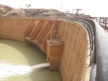 السد سعة بحوالي 1.8مليار متر مكعب والسكان يتهددهم العطش والمجاعة