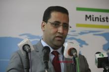 وزير المالية اليوم في المؤتمر الصحفي
