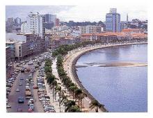 منظر العاصمة لواندا