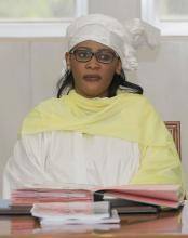 جينداه محمد المصطفى بال: وزيرة الشباب والرياضة.