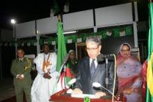 السفير الجزائري خندودي في نشاط سابق