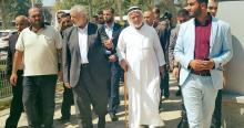 هنية يغادر غزة عبر معبر رفح لأداء فريضة الحج