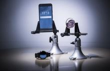 ابتكار عدسات لاصقة تكشف مستوى السكر في الدم