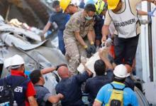 ارتفاع حصيلة قتلى زلزال إيطاليا لـ 250 قتيلا