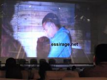 """لقطة من فلم """"المتطرف"""" للمخرج سيدي محمد الشيقر، تم عرضه على هامش منتدى الشباب الإفريقي نواكشوط 2015 (السراج)"""