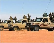 صورة لعناصر من الجيش الموريتاني