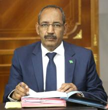 أحمدو ولد عبد الله: وزير الداخلية واللامركزية.