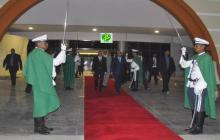 مغادرة الرئيس الموريتاني للمطار