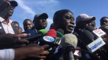 إدريسا سك: المترشح للانتخابات الرئاسية السنغالية والذي حل ثانيا بعد ماكي صال.