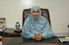 خديجة بنت بوكه: وزيرة الإسكان والعمران والاستصلاح الترابي