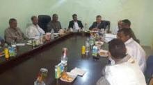 صورة من اجتماع المجلس البلدي