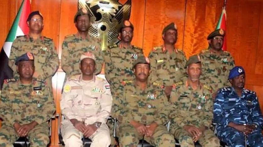 المجلس العسكري الانتقالي بالسودان
