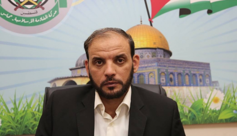 "المتحدث باسم ""حماس"" حسام بدران"
