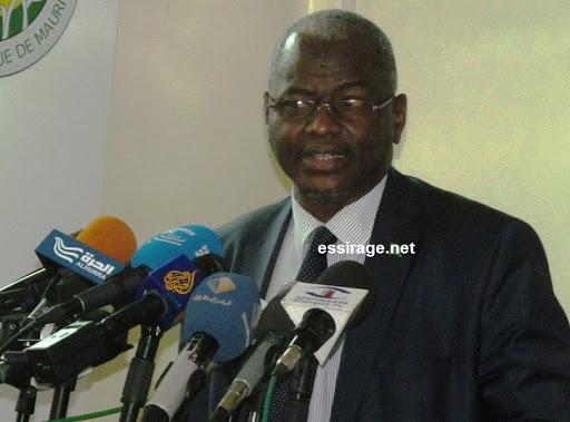 سيدي ولد سالم: الناطق باسم الحكومة الموريتانية