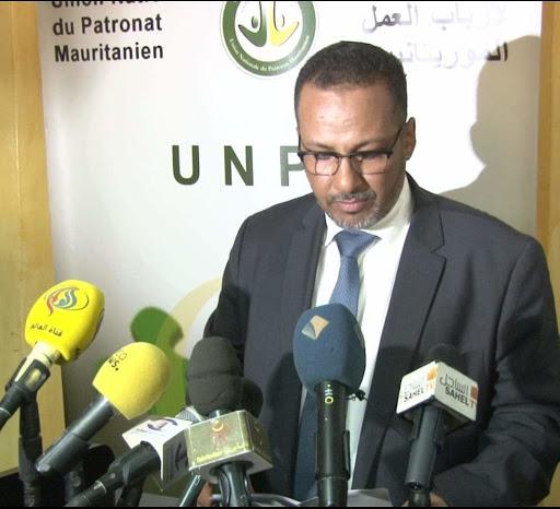 محمد زين العابدين ولد الشيخ أحمد: رئيس اتحاد أرباب العمل الموريتانيين
