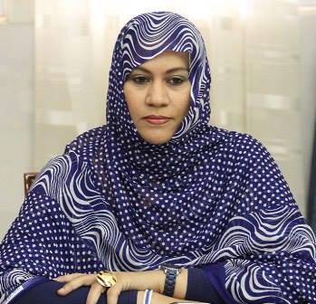 الناها  بنت مكناس: وزيرة التجارة والصناعة والسياحة