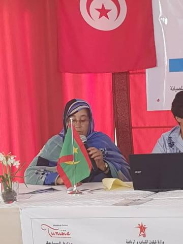 الإعلامية الموريتانية الراحلة السالكه بنت اسنيد
